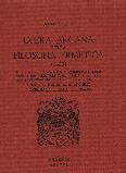 Opera Arcana della Filosofia Ermetica